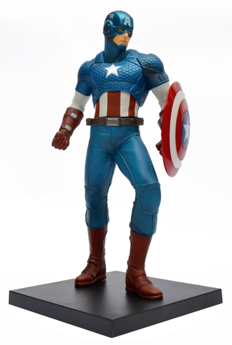 Kotobukiya, Marvel Now!, Captain America, ARTFX+ statue with base