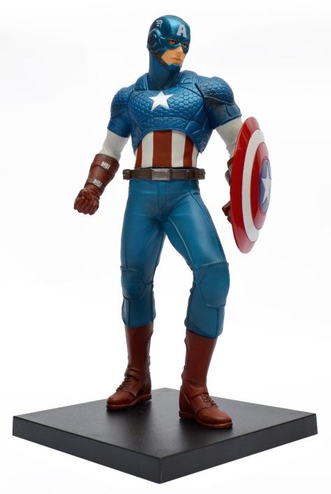 Kotobukiya, Marvel Now!, Captain America, ARTFX+ statue with base