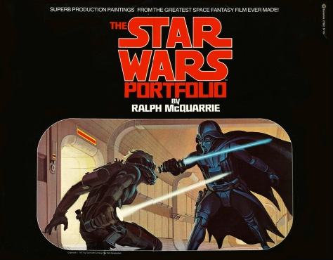 The Star Wars Portfolio, front cover