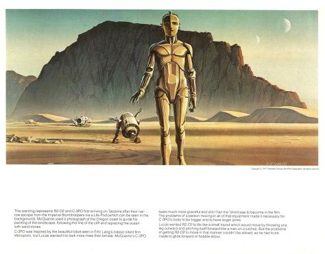 Star Wars Portfolio, Plate 1