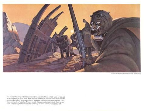 Star Wars Portfolio, Plate 2