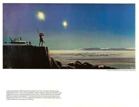 Star Wars Portfolio, Plate 4