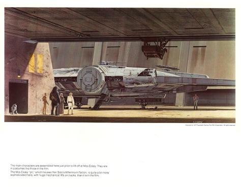 Star Wars Portfolio, Plate 6