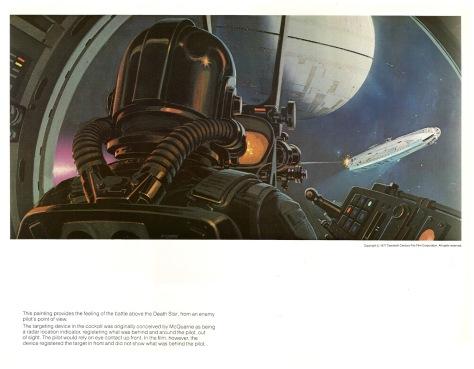 Star Wars Portfolio, Plate 7