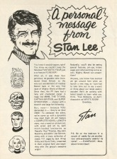 A Personal Message from Stan Lee, issue #1