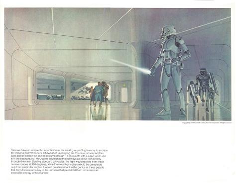 The Star Wars Portfolio, Plate 13
