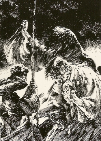 Bernie Wrightson's Frankenstein Trading Cards #17, front