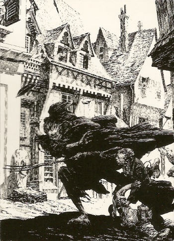 Bernie Wrightson's Frankenstein Trading Cards #19, front