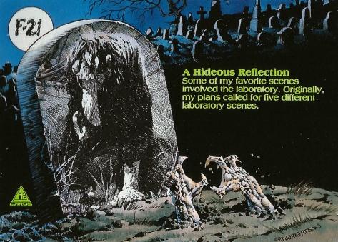 Bernie Wrightson's Frankenstein Trading Cards #21, back