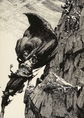 Bernie Wrightson's Frankenstein Trading Cards #27, front