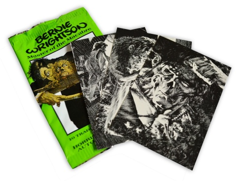 Bernie Wrightson's Frankenstein Trading Cards