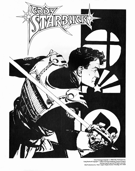 Cody Starbuck Portfolio by Howard Chaykin, cover