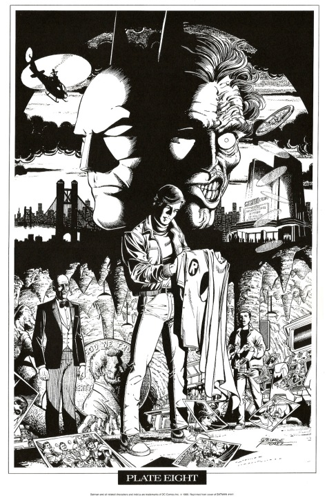 George Perez Portfolio, Plate Eight