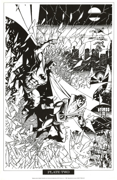 George Perez Portfolio, Plate Two