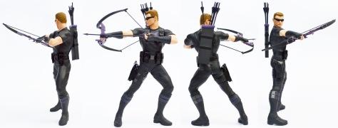 Kotobukiya Marvel Now! Hawkeye ARTFX+ statue, all sides