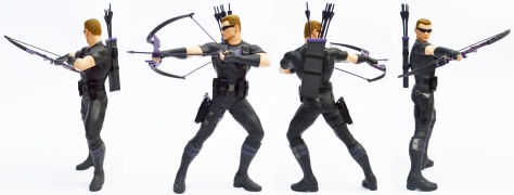 Kotobukiya Marvel Now! Hawkeye ARTFX+ statue, all sides