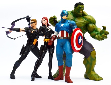 Kotobukiya Marvel Now! ARTFX+ statues released to date