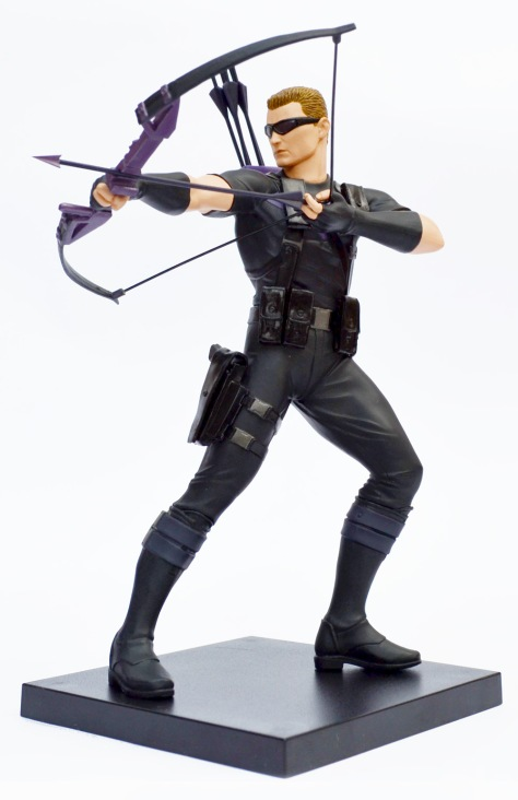 Kotobukiya Marvel Now! Hawkeye ARTFX+ statue, with base