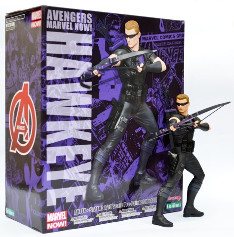 Kotobukiya Marvel Now! Hawkeye ARTFX+ statue, with box