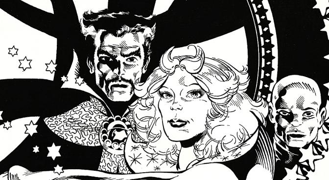 Michael Golden's Doctor Strange Portfolio (1983)