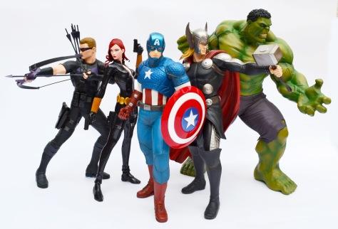 Kotobukiya, Marvel Now! ARTFX+ statues