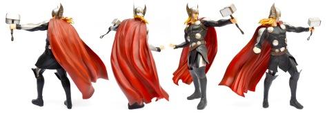 Kotobukiya, Marvel Now! Thor ARTFX+ statue, all sides