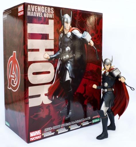 Kotobukiya, Marvel Now! Thor ARTFX+ statue with box