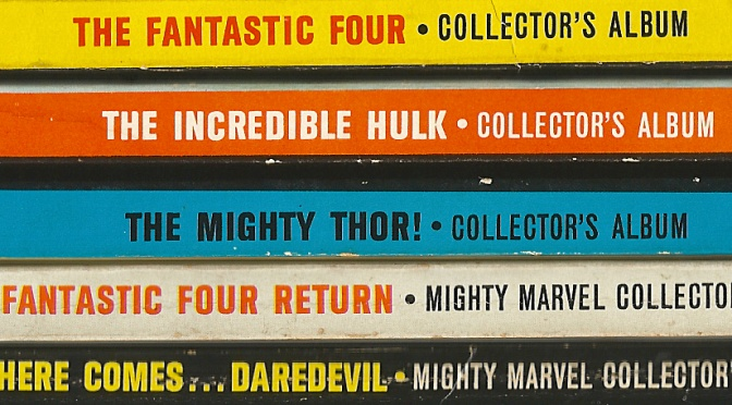 Marvel/Lancer paperbacks (1966-67)