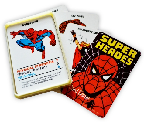 Marvel Superheroes Top Trumps, with box
