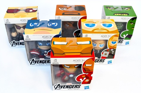 The Avengers Mini Muggs, boxes