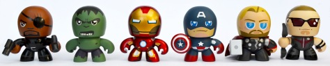 The Avengers Mini Muggs, front