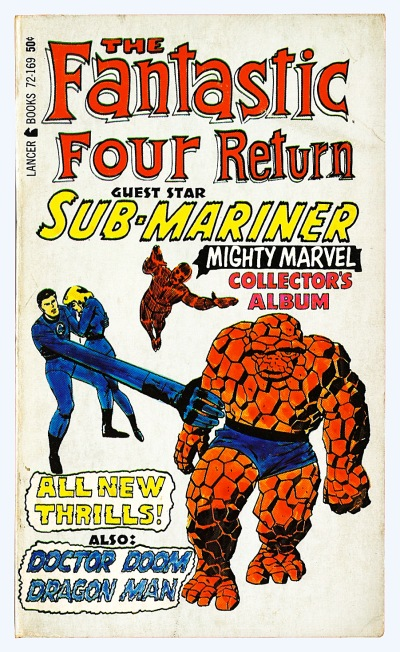 The Fantastic Four Return Collector's Album