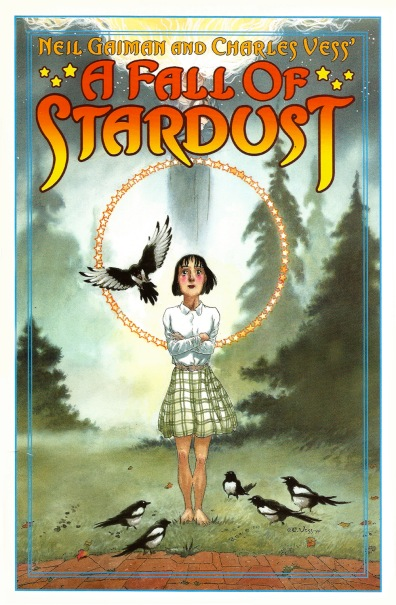 A Fall of Stardust Portfolio, front cover