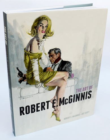 The Art of Robert E McGinnis, front cover