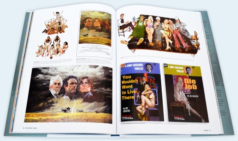The Art of Robert E McGinnis, pages 110 and 111