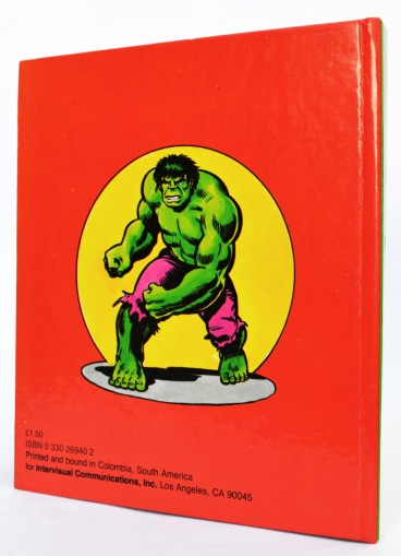 The Incredible Hulk, Circus of Crime!, back cover