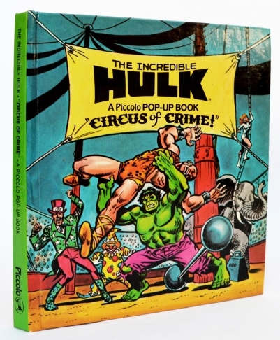 The Incredible Hulk, Circus of Crime!, front cover