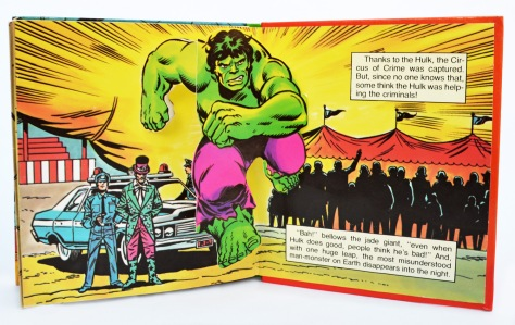 The Incredible Hulk, Circus of Crime!, pages 12 and 13