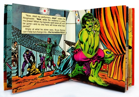 The Incredible Hulk, Circus of Crime!, pages 4 and 5