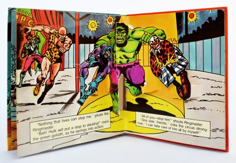 The Incredible Hulk, Circus of Crime!, pages 6 and 7