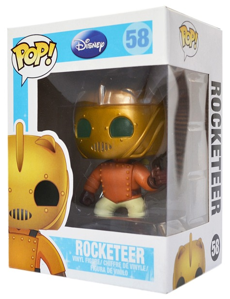 The Rocketeer, with box