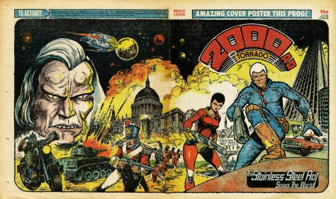 2000AD and Tornado Prog 171, 2 August 1980 poster