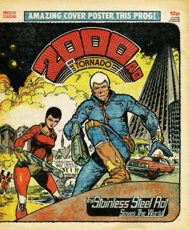2000AD and Tornado Prog 171, 2 August 1980