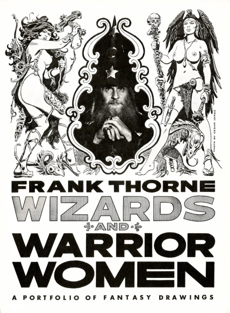 Frank Thorne's Wizards and Warrior Women Portfolio cover