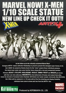 Kotobukiya's ARTFX+ X-Men announcement