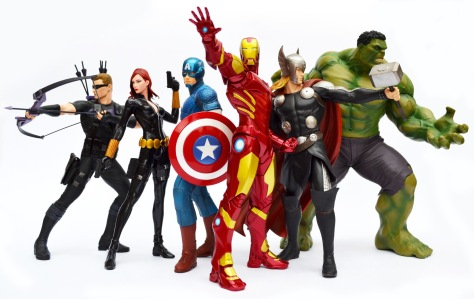 Kotobukiya's ARTFX+ Marvel Now! Avengers Assembled!