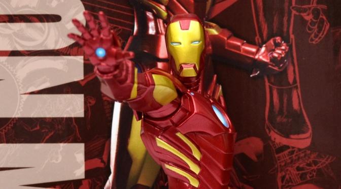 Reviewed: Marvel Now! Iron Man ARTFX+ Statue by Kotobukiya
