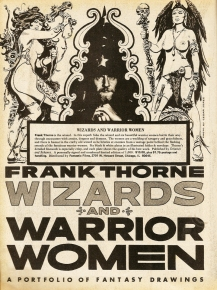 Frank Thorne's Wizards and Warrior Women Portfolio advertisment