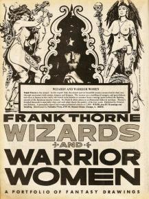 Frank Thorne's Wizards and Warrior Women Portfolio advertisment