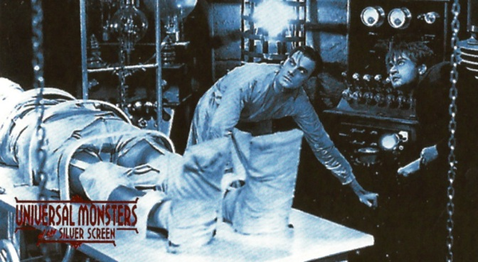 Universal Monsters of the Silver Screen Trading Cards, #1–15 (1996)